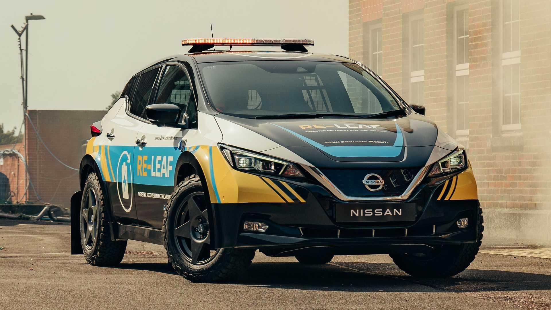 Nissan Re-Leaf gyorsbeavatkozó jármű