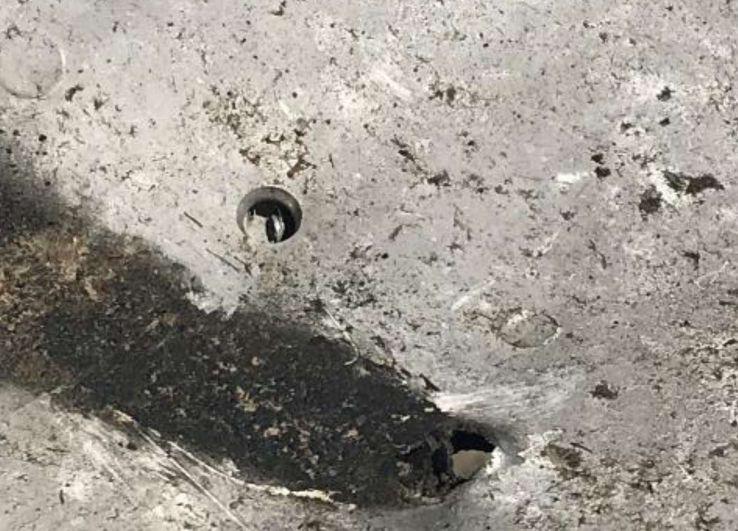 Sérülés a gép törzsén: Irán szerint a füstnyomok nem tartalmaznak robbanóanyag-nyomokat