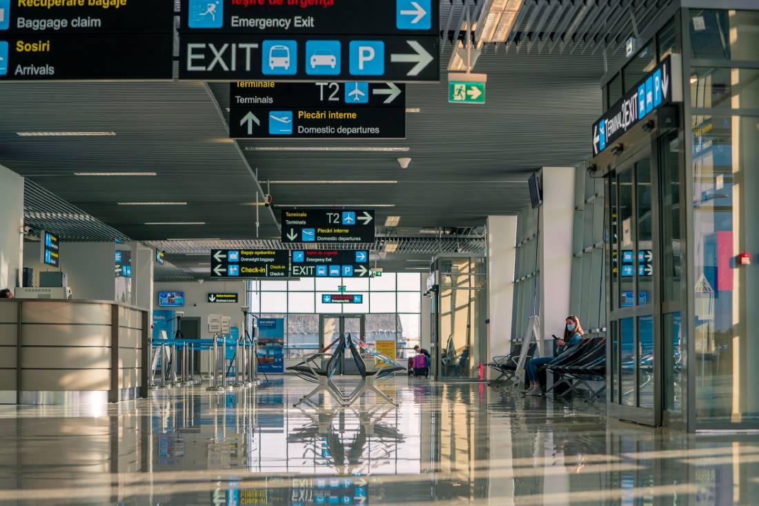 A nemrég átadott új terminál (fotók: Aeroportul Oradea)