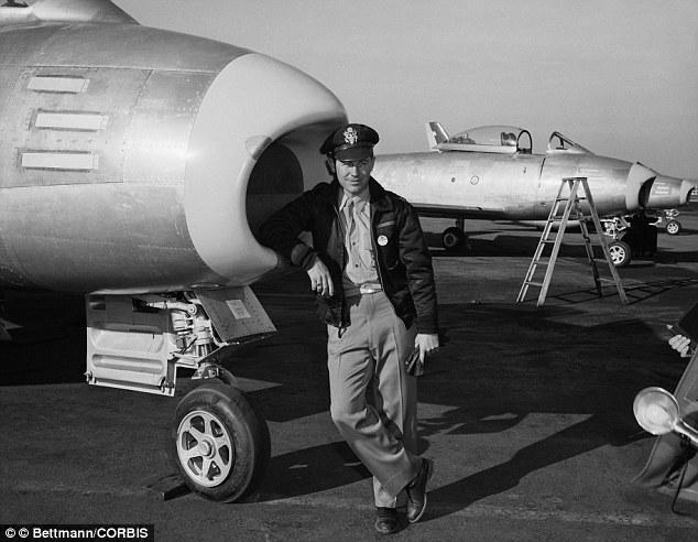 Koreai háború, F-86-ossal