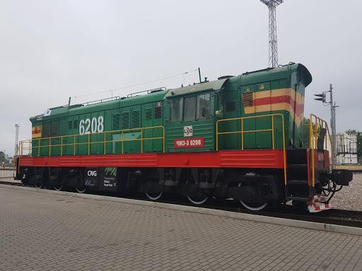 Remot CsME-3 tolatómozdony Litvániában, immáron CNG üzemmel