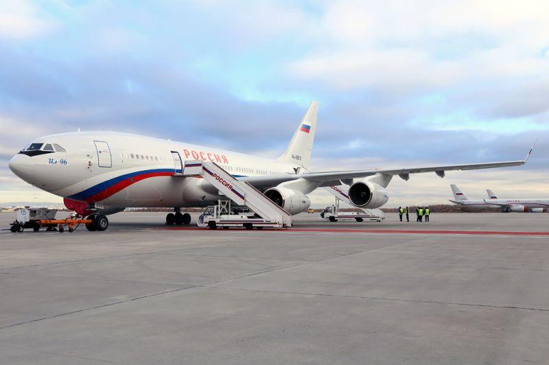 Il-96M az állami vezetők szállítását intéző Rosszija színeiben (fotó: Iljusin)