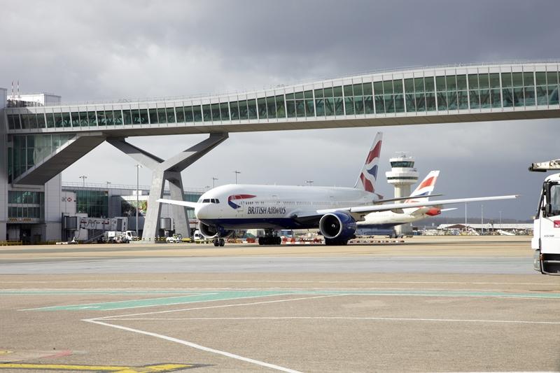 London második legnagyobb és legdrágább reptere (fotó: Gatwick.com)