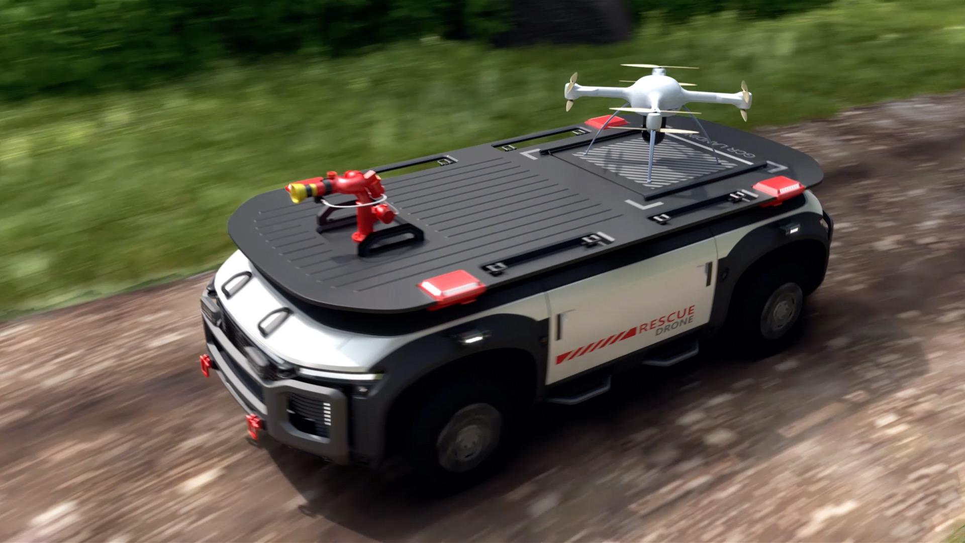 Gyorsbeavatkozó műszaki mentőjármű