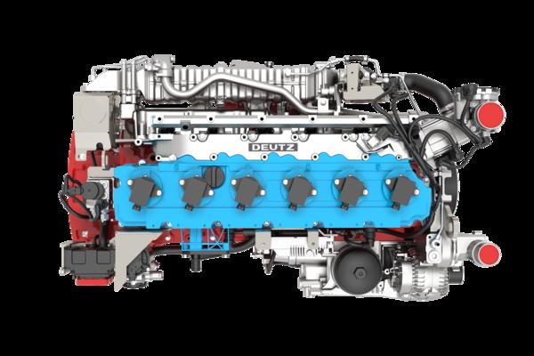 Deutz TCG 7.8 hidrogéngáz üzemű motor