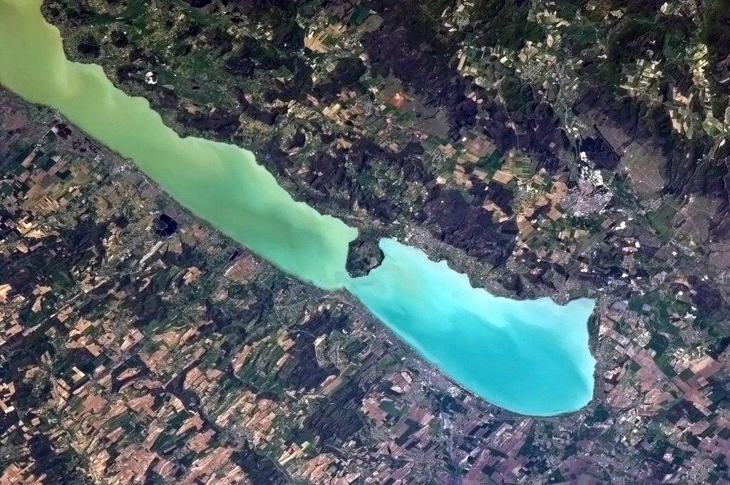 Felvétel az ISS fedélzetéről