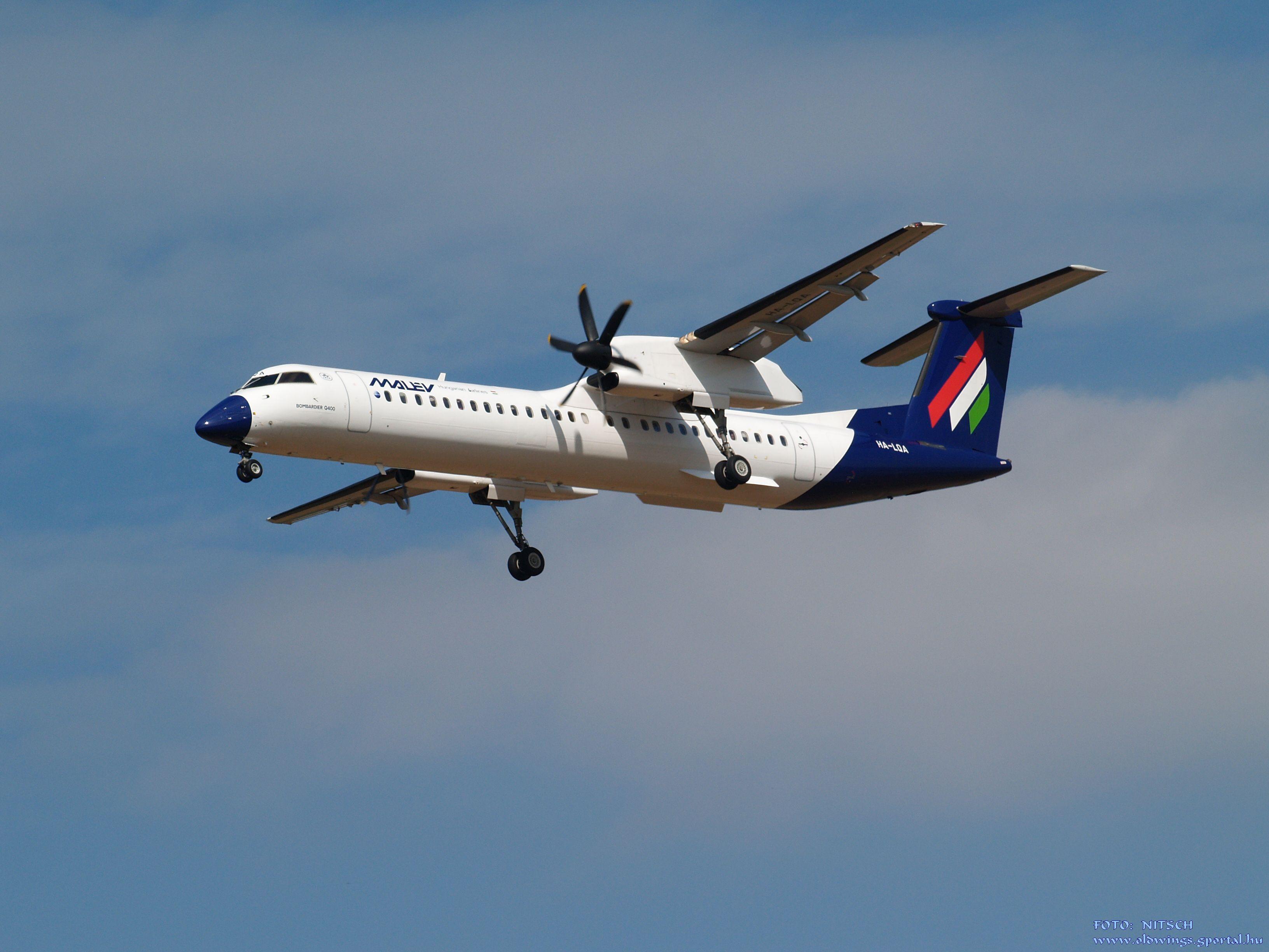 A magyar nemzeti légitársaság színeiben 2008-tól repült a típus, leállásig (fotó: Nitsch György)