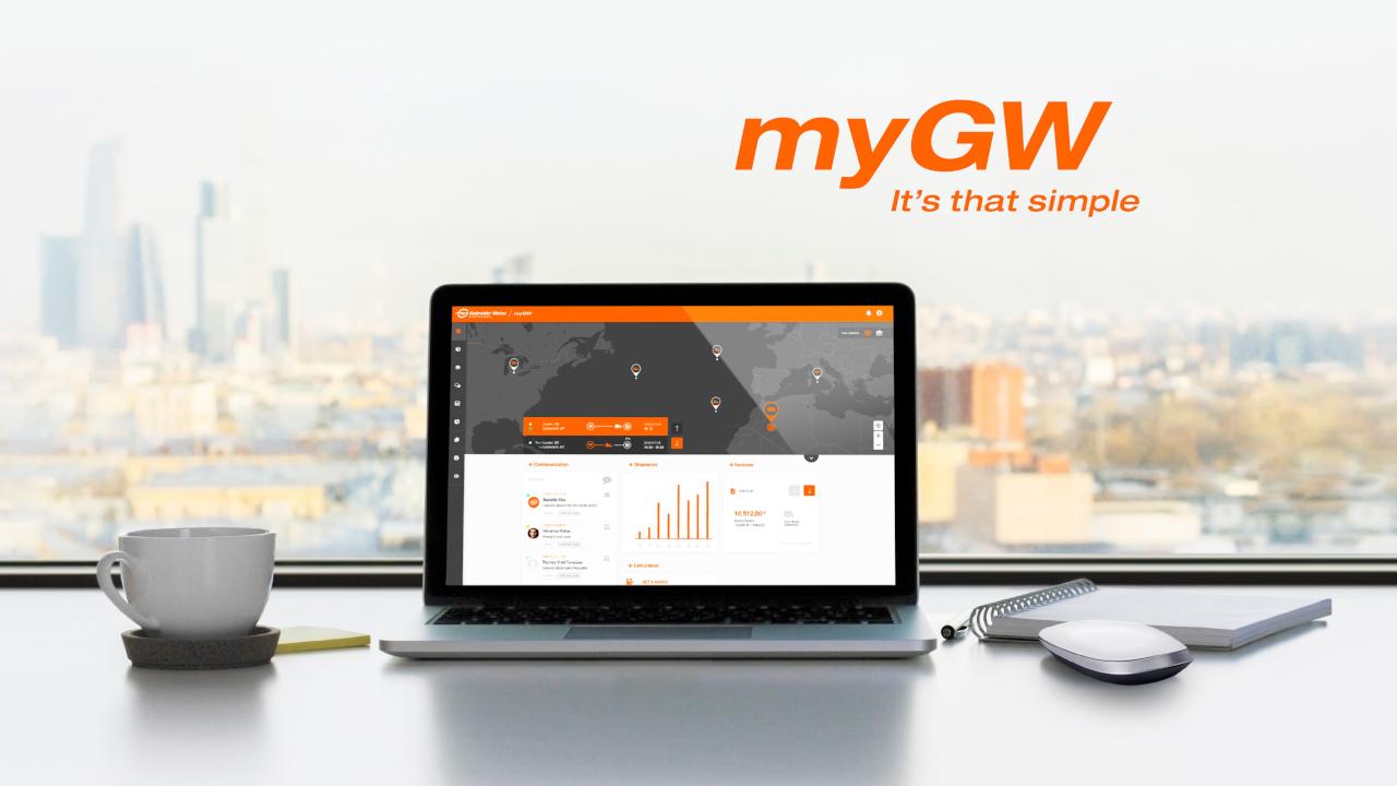 A myGW ügyfélportál elindítása a Gebrüder Weiss digitalizálási stratégiájának egyik fontos lépése, a platformmal a GW a közúti mellett a raktározási, légi és tengeri területet is lefedi