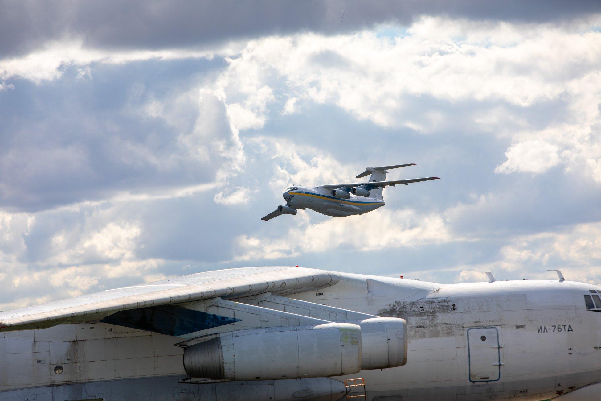 A szélestörzsű szállítógép, az Il-76-os