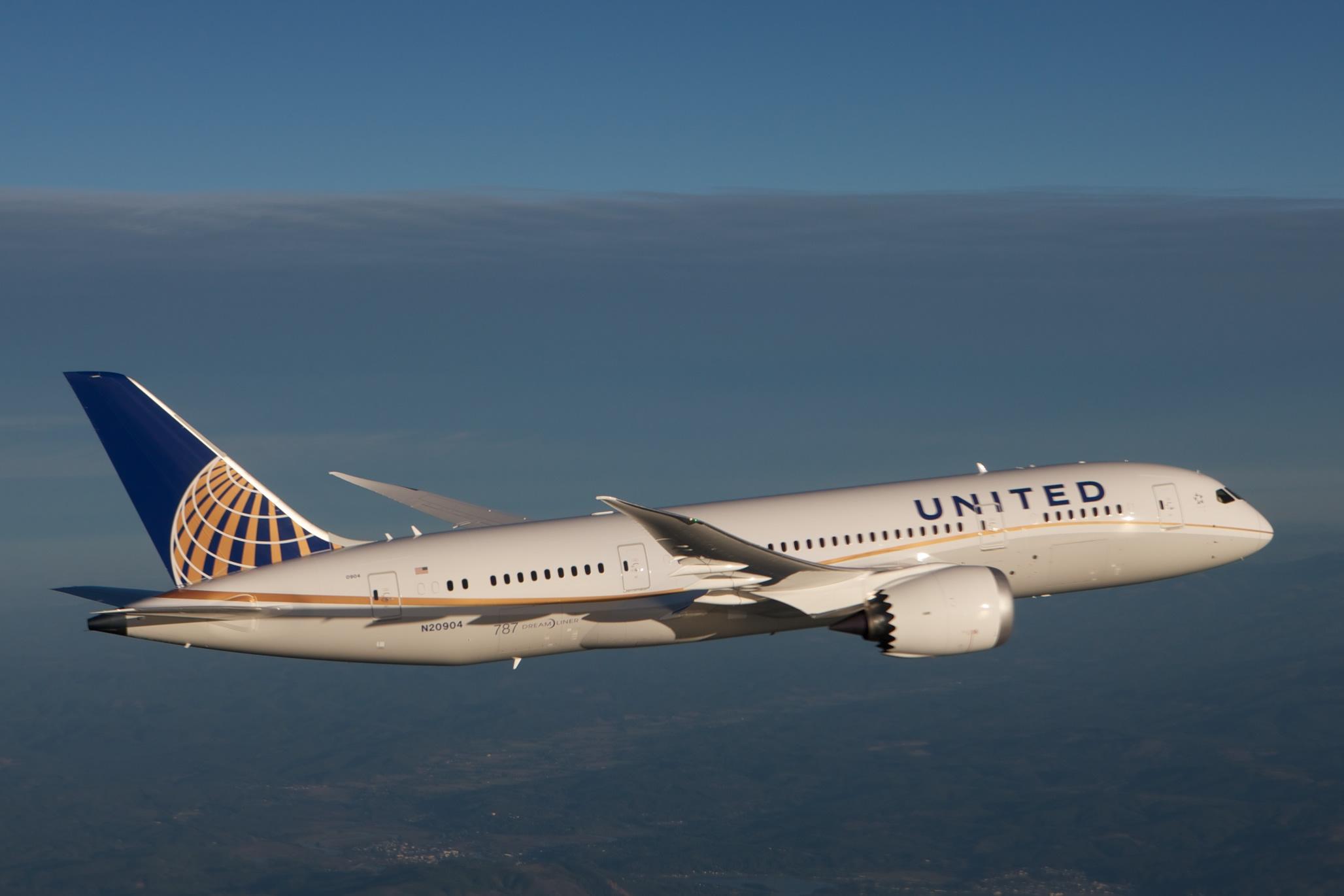 (fotó: United Airlines)