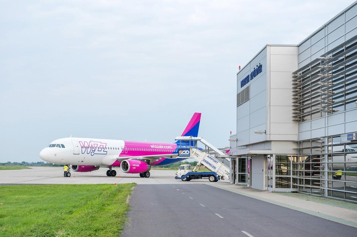 Debrecen forgalmát jelenleg kizárólag a Wizz járatai adják (fotó: Debrecen Airport)