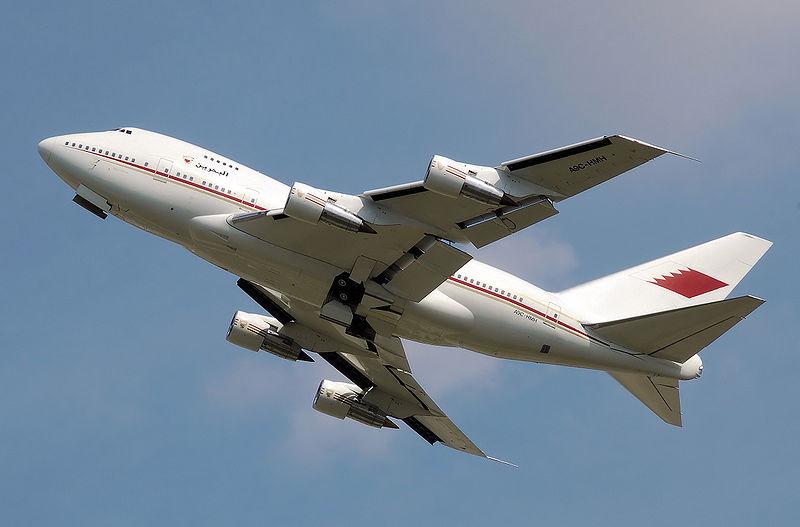 Egy SP a VIP-gépek közül: Bahrein (fotó: Boeing)