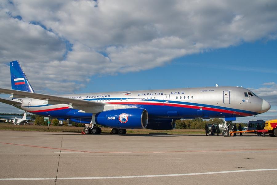 A Tu-214ON, az orosz felderítő-fényképező típus (fotó: A. Kondratov, AVIA.ru)