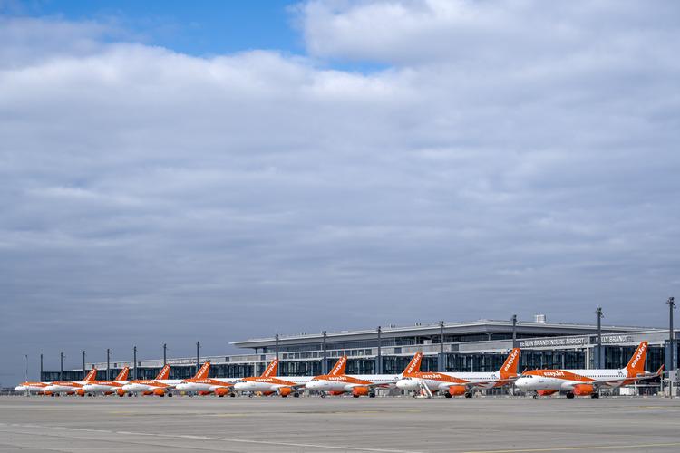 A T1 forgalmi előtér most még mint reptértároló funkcionál