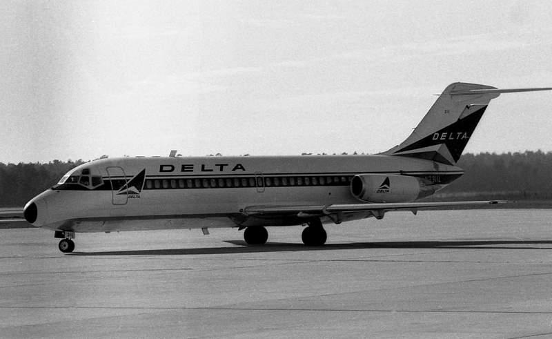 A sikeres őstípus, a DC-9-es
