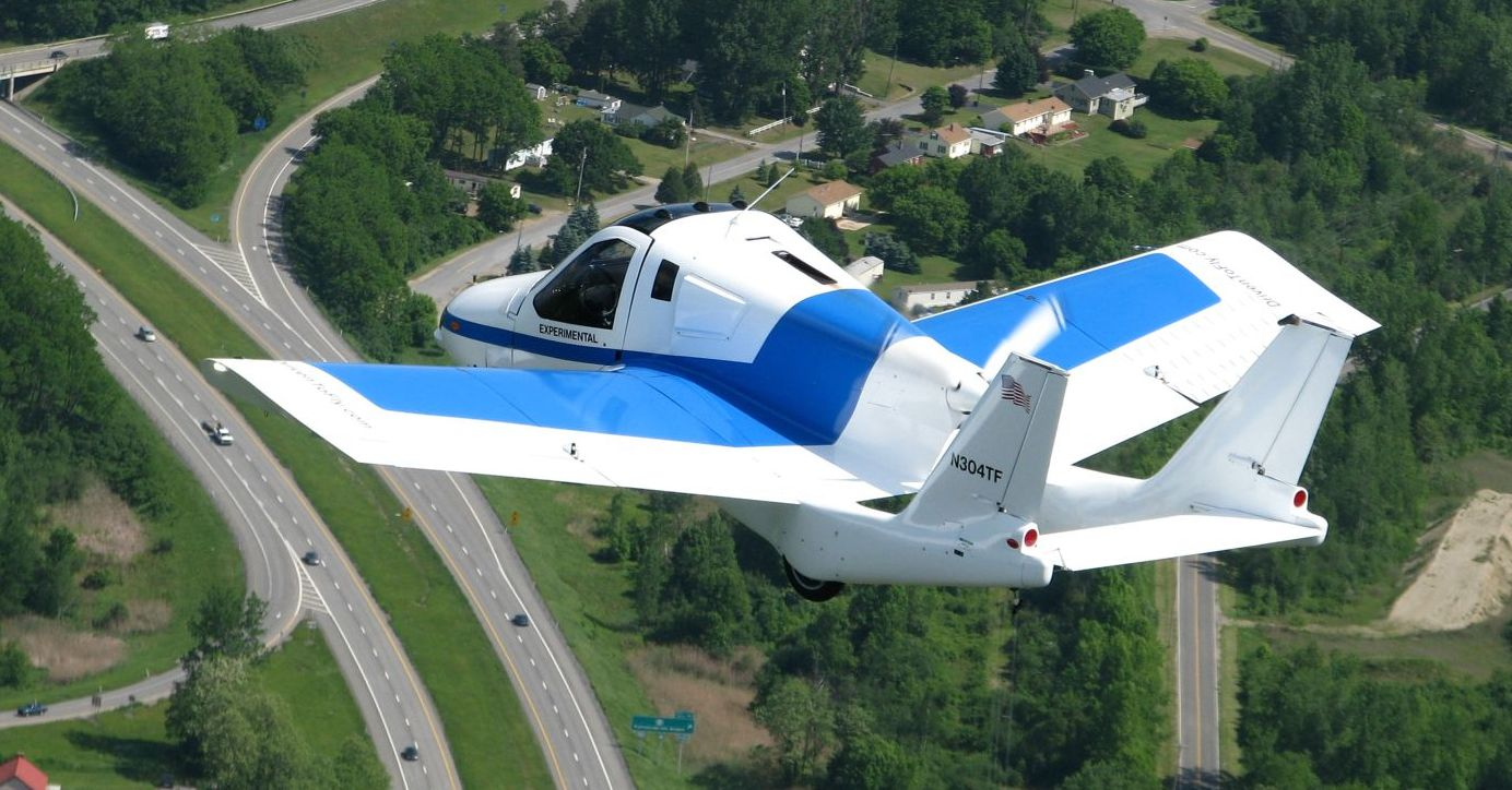 Terrafugia: több,  tizenegy éve repül, de nem indult be a gyártás