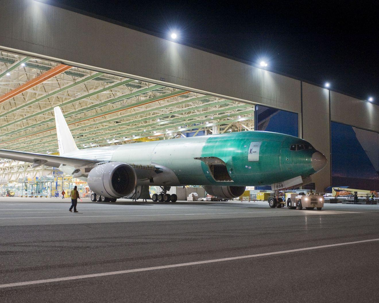 777F, most is gyártásban (fotó: Boeing)