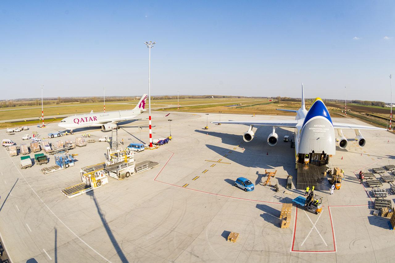 Bud Cargo City (fotó: Budapest Airport)