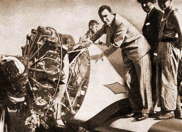 Magyar Sándor és a 450 lóerős Pratt & Whitney csillagmotor