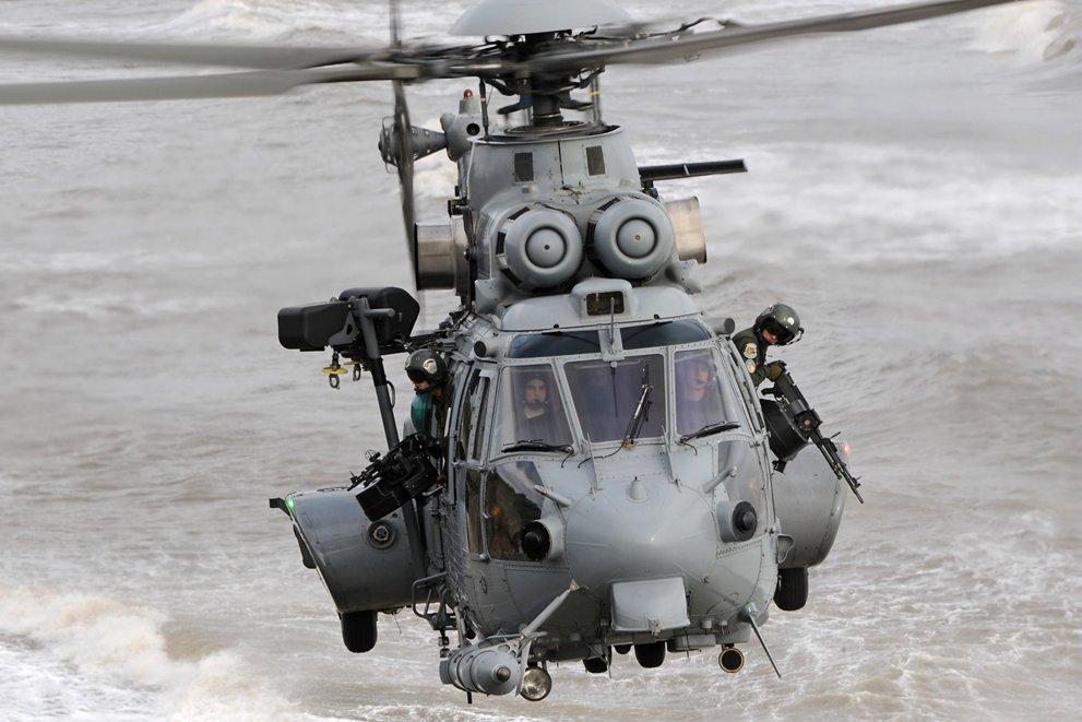A Super Puma több konfliktuszónában bizonyított (fotó: Airbus helicopters)