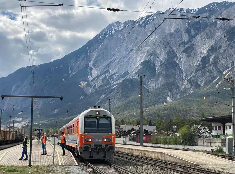 Hetedhétország, azaz Ötztal pályaudvara Tirolban (fotó: Krabót Péter)