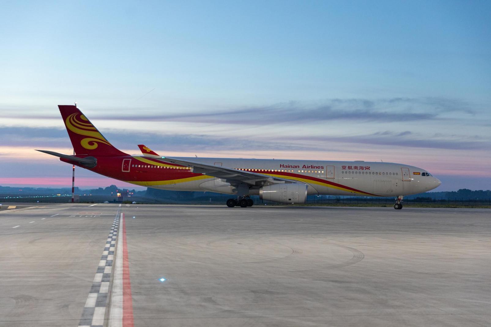 Az első tavalyi járat Csengcsou felől (fotó: ITM)