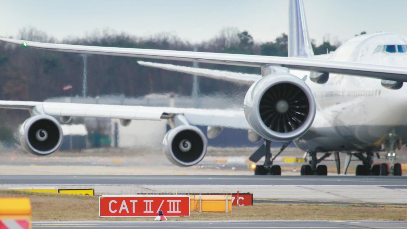 """""""Békebeli"""" frankfurti kép: Európa egyik legfontosabb repülőtere (fotó: Fraport)"""