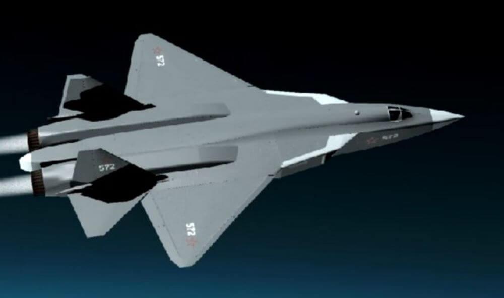Fantáziakép: MiG-41, hiperszonikusan, földkörüli pályán?
