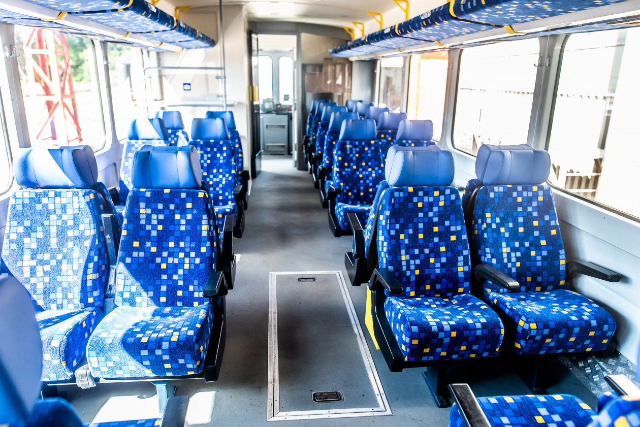Az utastér kulturált kinézetet kap