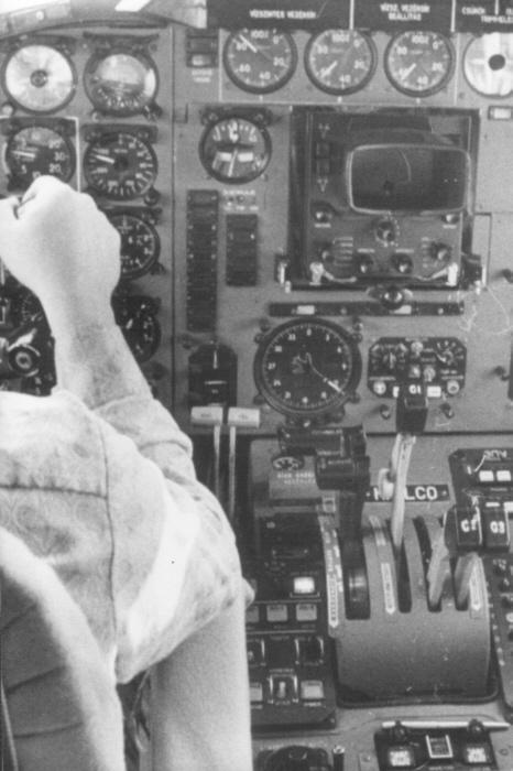 Kapitányi vizsga, Malév, Tu-154: két hajtómű alapon... (fotó: Tóth Béla)