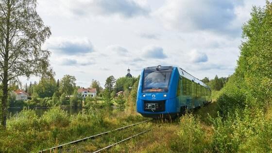 Az első svédországi Alstom Coradia iLint
